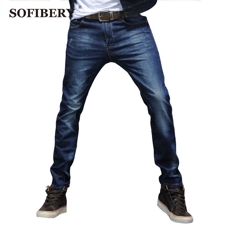 SOFIBERY Brand jeans stretch jeans men cultivating high quality mens jeans free shipping M834-8608Одежда и ак�е��уары<br><br><br>Aliexpress