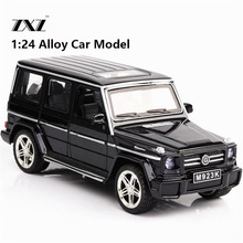 Hot 1:24 G65 Car Model Toy Car Model Free Shipping Diecasts & Toy Vehicle Model Metal Car For Collection Metal Toy boy(China)