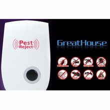 Home electronics insect repellent fly mouse, plug-in ultrasonic enhanced mosquito repellent, free shipping
