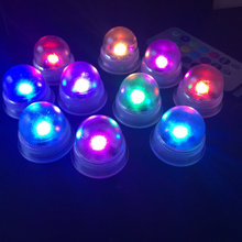 LED Acorn Light waterproof float/Hang Lantern Balloon Lamp remote control Xmas Wedding Table Centerpiece party Decor-Multicolor(China)