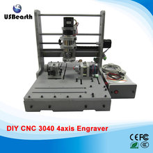 3D CNC machine 3040 Mini Wood Router 300W CNC Mililng Machine, free tax to EU countries