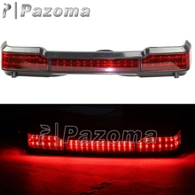Motorbike Supermoto Rear Light LED Motorcycle Tail Light Brake Lamp For Harley Electra Glide Classic Ultra King Tour Pack(China)