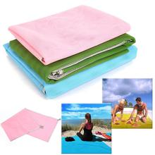 AONIJIE 150*150cm Hot Summer Outdoor Camping Mat Picnic Mattress Sand beach Mat Waterproof Sand mat Camping Mat Blanket Pad