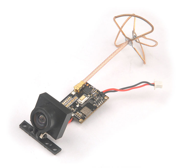 HOBBYMATE High quality Mini 5.8G fpv camera &amp; VTX Switchable 25/200mw - for FPV Racing Drone Quadcopter<br>