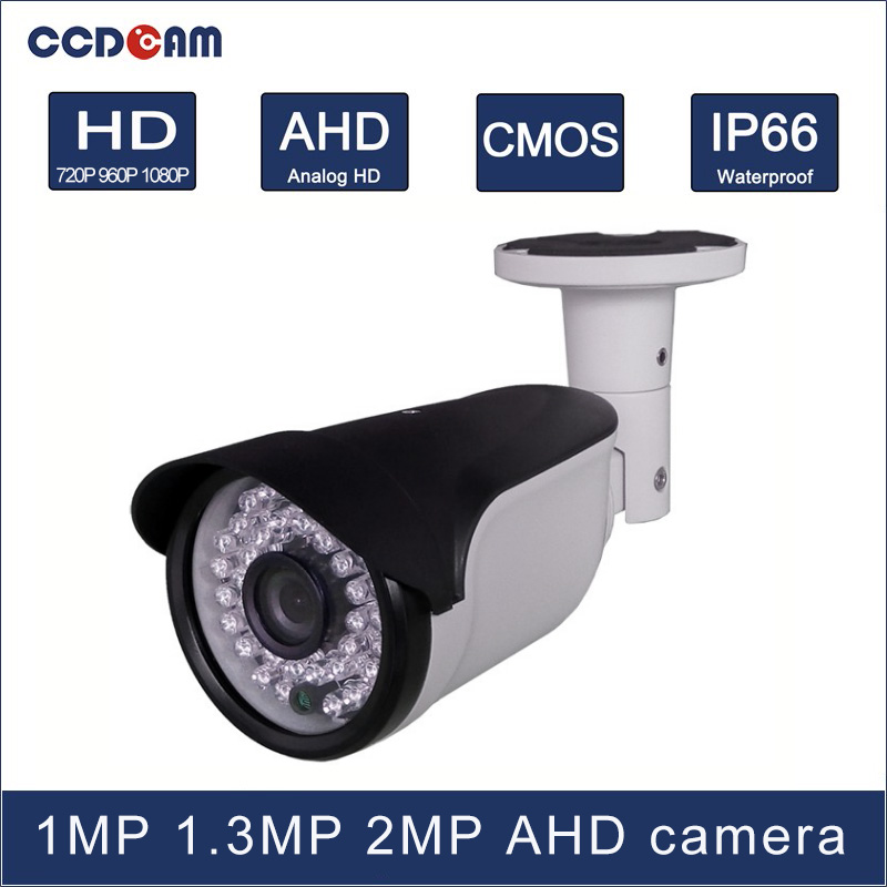 CCDCAM 1MP 1.3 MP 2 Magepixel CCTV AHD HD Camera for surveillance CCTV  system<br>