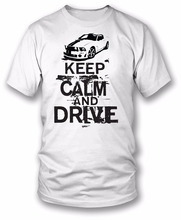 2017 New Trendy Hot Sale Men High Quality Mustang Keep Calm Drivecasual Fitness Clothing Tops Tees