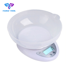 Buy FGHGF 5kg 1g Portable Digital Kitchen Scale Precision Electronic Food Parcel Weighing Balance Home Bench Scales Cook Tools Bowl for $10.07 in AliExpress store