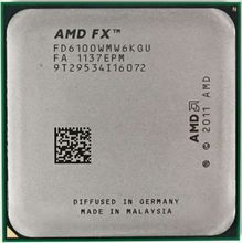 AMD FX-Series FX 6100 3.3GHz Six Core Socket AM3+ CPU Processor
