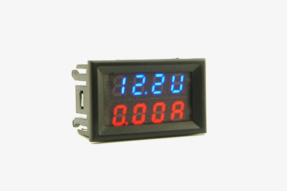 Módulo de pantalla LED Amperímetro Corriente 4V-30-V Panel Digital ampermeter 0-999mA