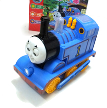 Baby Toys Wholesale Electric Thomas Train Head With Light Toys Vehicle Birthday Gift