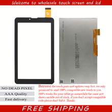 "New touch scren LCD Display Matrix For 7"" BQ-7008G BQ 7008G TABLET inner LCD Screen Panel Lens Frame replacement Free Shipping"