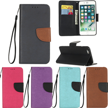 Buy Flip Leather Soft Silicone Case Cover apple iPhone 7 phone Case iPhone 7 plus phone bags coque iPhone7 iPhone7 plus for $4.74 in AliExpress store