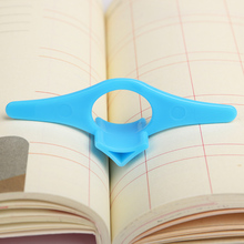 10PCS Office Stationery Multifunction Thumb Book Support Book Holder Plastic Bookmark Reading Assistant Book Holder(China)