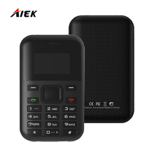 AEKU C8 AIEK C8 NEW Card Phone Special GPS Location Monitor Low Radiation Long Standby Mini Pocket Phone MP3 Play in Stock(China)