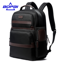 BOPAI Oxford Travel Laptop Men Backpack Casual Business Fashion Male Office Work Back Pack Bags Big School Backpack for Male(China)