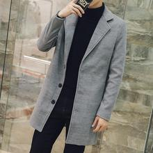 ZEESHANT XXXXXL Man Long Trench Coat Wool Coat Winter Peacoat 5XL Men's Wool Coat Mens Overcoat in Men's Wool & Blend Coats