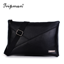 Tripman Genuine Leather Men Clutch Bags New Arrival Real Leather Business Men's Messenger Bags carteira masculina