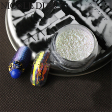 1 Box Nail Glitter Multi-chrome Powder Chameleon Glitter Powder Sheets Tips Design Nail Decoration Nail Art Glitter 8240869