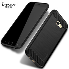 Classic 100% original Ipaky brand Brushed  design silicon case for Samsung Galaxy A3(4.7''),A5(5.2''),A7(5.7'') 2017 new edition