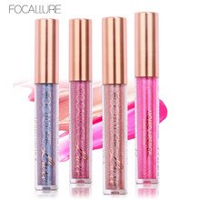 FOCALLURE Matte Lipstick Metallic Liquid Lipstick Glitter Tint Lip Makeup Waterproof Nude Make up Lip Gloss Stick Cosmetic