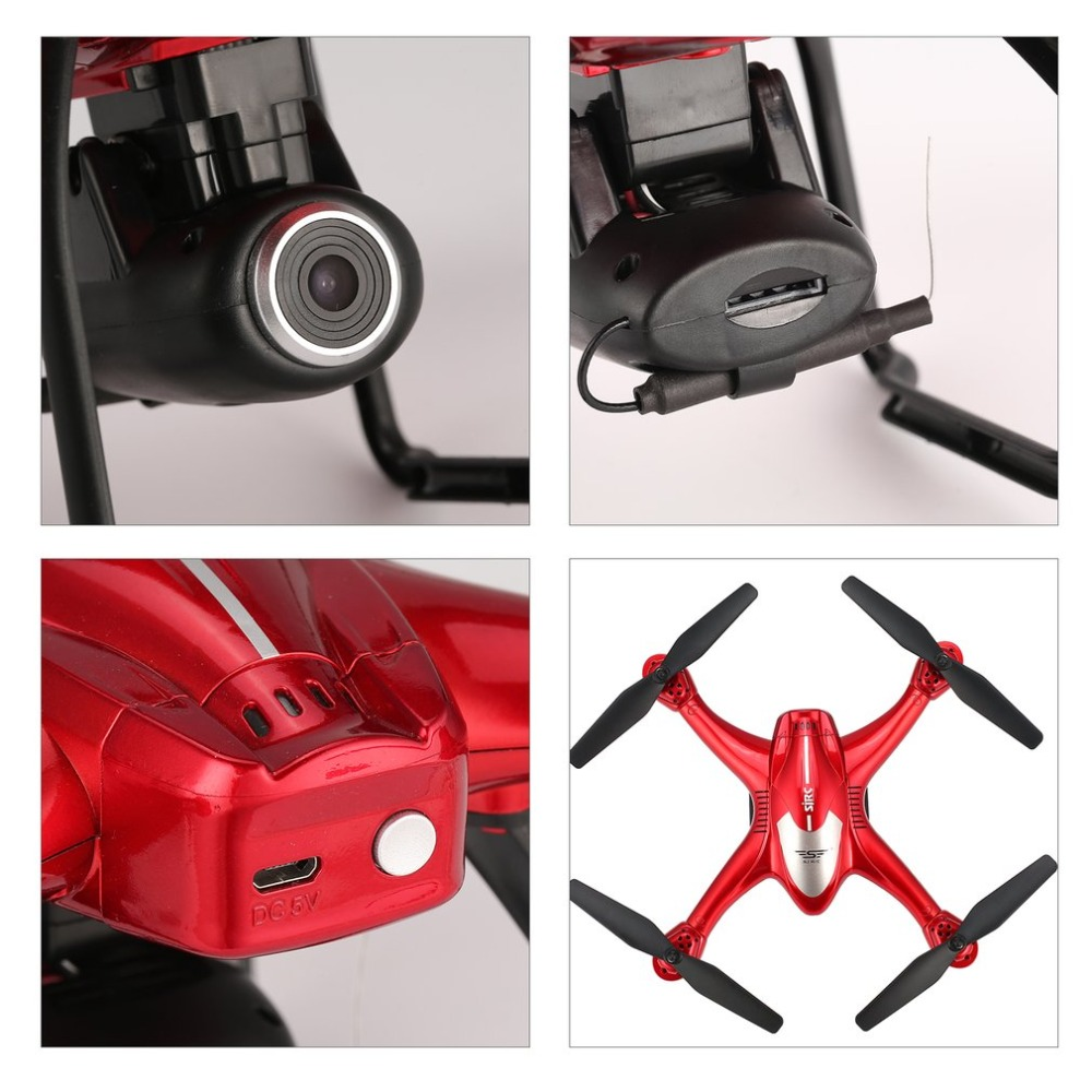 SJ R/C S30W 2.4G Dual GPS Positioning FPV RC Quadcopter Drone with 7P Adjustable Wide Angle Wifi Camera Follow Me Hovering 16