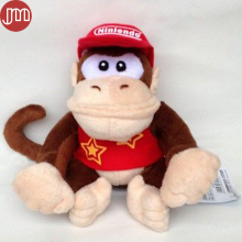 New Super Mario Diddy Kong Plush Doll Didi Kongu Toy Donkey Kong Baby Dolls Anime Juguetes Bonecas Collection Kids Gift