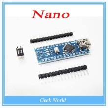 1PCS Nano 3.0 controller compatible with nano CH340 USB driver NO CABLE for Arduino NANO V3.0