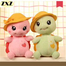 Cute Little Turtle Plush Doll 20cm with a suction cup to send children's birthday gift girlfriend holiday gift