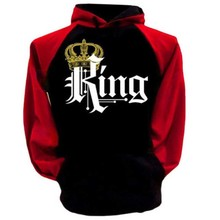 Couple Hoodie - King And Queen His and Hers - New Design Couple Matching Hoodie(China)