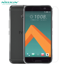 Super Clear Protective Film For HTC10 Nillkin Transparent Anti-Fingerprint Matte Screen Protector For HTC 10 Lifestyle(China)
