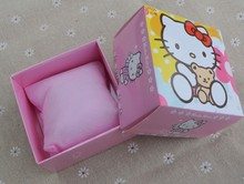 Fashion Cute Hello kitty KT cat style Paper material Watch Box
