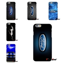 For Ford Mustang GT Concept Logo Soft Silicone TPU Transparent Cover Case For Huawei G7 G8 P7 P8 P9 Lite Honor 4C Mate 7 8 Y5II