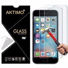 9H 0.26mm Tempered Glass For iPhone 8 X 7 Plus 6 6S Plus 5 5S SE 5C 4 4S 3 3G 3GS Case Screen Protector Sklo Anti-Scratch Cover