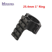 "MIZUGIWA Mount Rifle Scope Adapter Base 25.4mm 1"" Ring Light Tube Picatinny Rail Profile Pistol Airsoft Gun Pistol Hunting Caza"