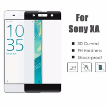 For Sony Xperia X 3D Curved Surface Full Cover Tempered Glass Screen Protector For Sony XA XP Performance Protective Film