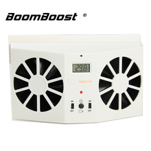 best price Air Vent Cool fan Car Solar Power Fan Auto Cooler Ventilation 1 pcs For car window with Display(China)