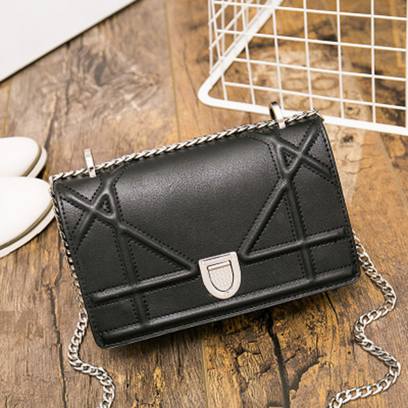 Aolen Bags Handbags Women Famous Brands  Leather Luxury 2016 Messenger Vintage Retro Designer Shoulder Bag Crossbody Black<br><br>Aliexpress