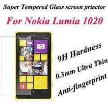 For Nokia Lumia 1020 premium tempered glass screen protector,for Nokia 1020 glass screen film guard Cover Skin for Lumia 1020(China)