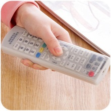 Silicone TV Remote Control Case Cover Video AC Air Condition Dust Protect Storage Bag Anti-dust Waterproof(China)