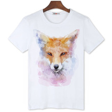 BGtomato lovely fox printing new style t shirts good quality brand cheap sale shirts Original brand new trend shirts