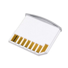Micro SD TF to SD Card Kit Mini Adaptor for Extra Storage Mac book Air / Pro / Retina White