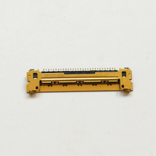 10 pcs marca new lcd led lvds cabo conector de 30 pinos de ouro para macbook air a1370 a1369 a1465 a1466(China)
