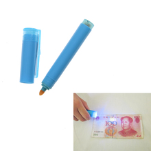 JETTING 2 in 1 Useful UV Light Banknotes Detector Counterfeit Fake Forged Money Bank Note Checker Detector Tester Marker Pen