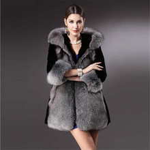 Winter Girls Soft Plush Jackets Artificial Fur Coat For Women Thick Warm Heavy Long Faux Fur Jackets Female Fur Coat A2555