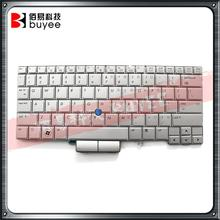 Tested Silver US Keyboard Backlight Trackpoint Original FOR HP 2740p 2760P Laptop Keyboard Part