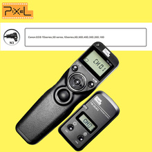 Pixel TW-283 N3 Wireless Timer Remote Control For Canon 10D 20D 30D 40D 50D 5D 5D Mark II 5D Mark III 5DS 6D 7D Shutter Release