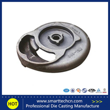 Precision investment aluminium cover die casting parts for stomacher Export quality products precision oem die casting parts(China)