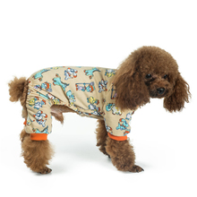 Pet Dog Clothes Soft Comfortable Dog Pajamas Sleepwear Puppy Poodle Chihuahua Clothes Small Dog Jumpsuit Clothing for Dogs