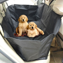 Auto Car Back Seat Cover Pet Dog Cat Mat Hammock Pet Carrier Safety Waterproof Dog Car Mats Footprint Protector 40 x 40 x 130 cm(China)
