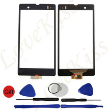 Phone Repair Parts Touch Screen Digitizer Panel Outer Glass Lens For Sony Xperia Z LTE C6602 C6603 L36H Sensor Replacement+Tools